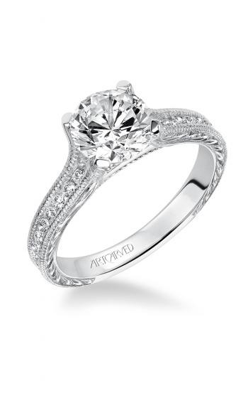 ArtCarved Vintage Engagement ring 31-V511FRW-E product image