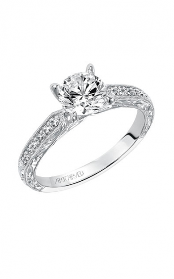 ArtCarved Vintage Engagement ring 31-V513ERW-E product image