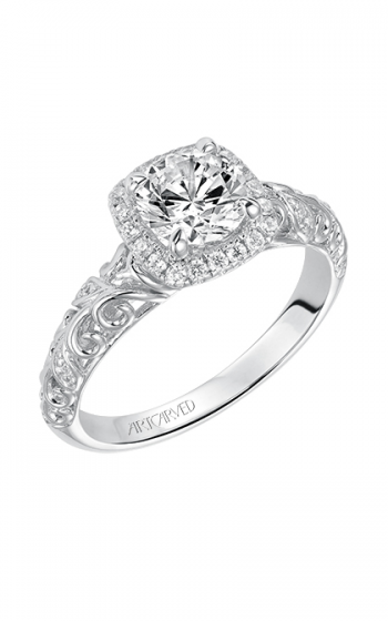 ArtCarved Vintage Engagement ring 31-V531ERW-E product image