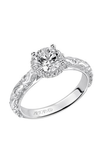 ArtCarved Vintage Engagement ring 31-V487ERW-E product image