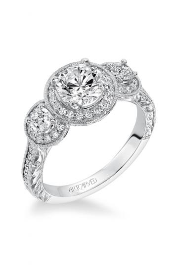 ArtCarved Vintage Engagement ring 31-V553ERW-E product image