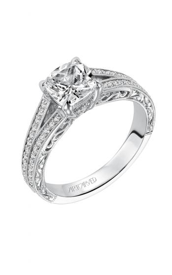 ArtCarved Vintage Engagement ring 31-V556ERW-E product image