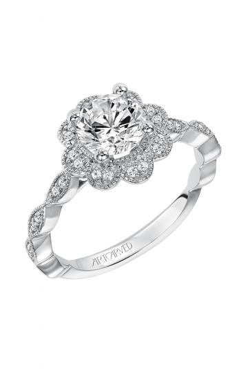 ArtCarved Vintage Engagement ring 31-V567ERW-E product image
