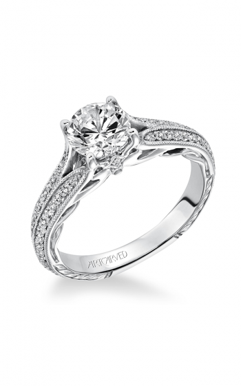 ArtCarved Vintage Engagement ring 31-V620ERW-E product image