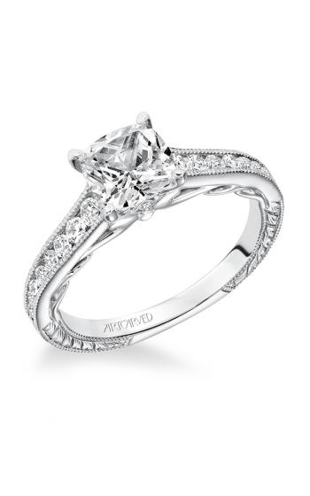 ArtCarved Vintage Engagement ring 31-V622FUW-E product image