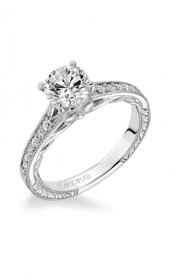 ArtCarved Vintage Engagement ring 31-V623ERW-E product image