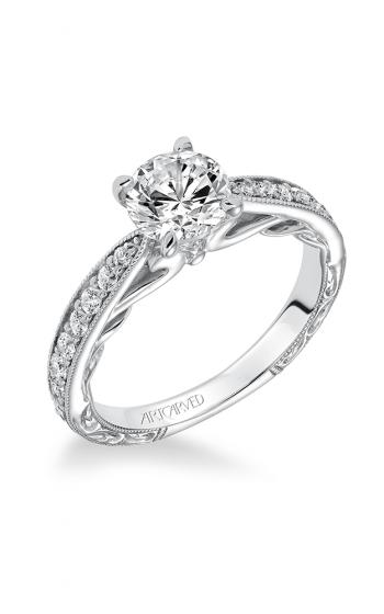 ArtCarved Vintage Engagement ring 31-V626ERW-E product image