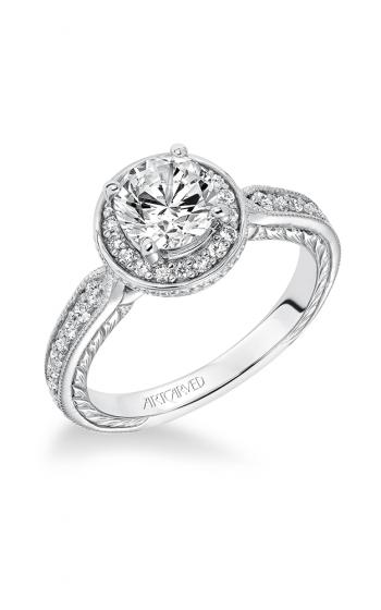 ArtCarved Vintage Engagement ring 31-V628ERW-E product image
