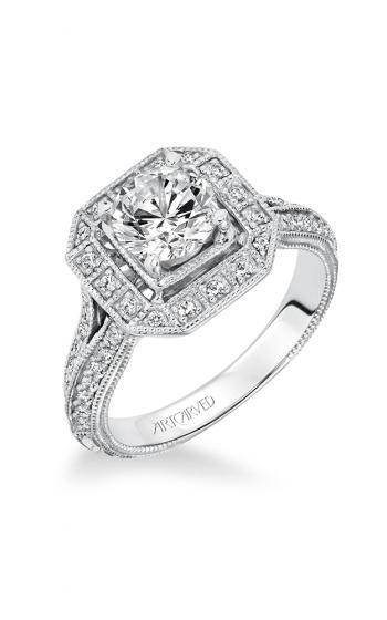 ArtCarved Vintage Engagement ring 31-V632ERW-E product image