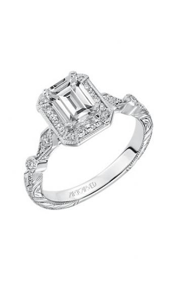 ArtCarved Vintage Engagement ring 31-V634EEW-E product image