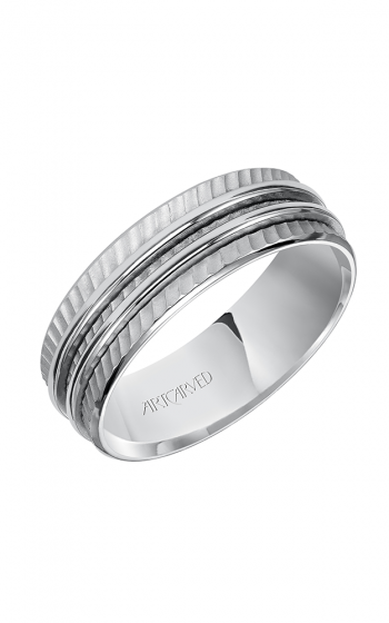 ArtCarved Contemporary Wedding band 11-WV7468W7-G product image