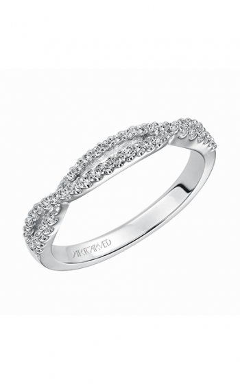 ArtCarved Contemporary Wedding band 31-V339W-L product image