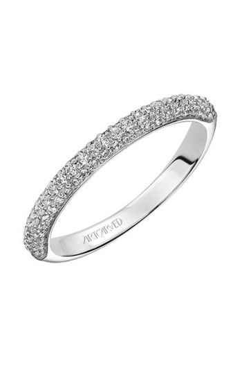 ArtCarved Contemporary Wedding band 31-V539W-L product image