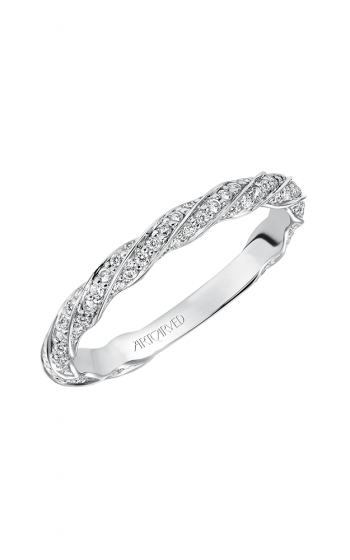 ArtCarved Contemporary Wedding band 31-V577W-L product image