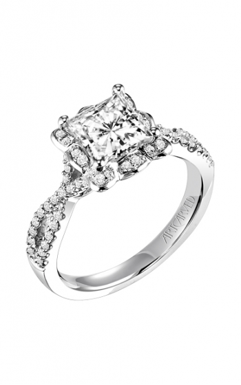 ArtCarved Contemporary Engagement ring 31-V339GCW-E product image