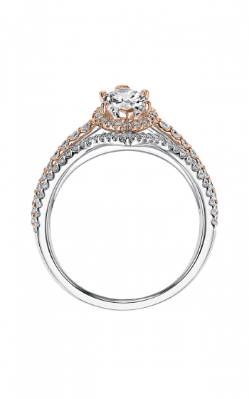 ArtCarved Contemporary Engagement ring 31-V549EMR-E product image