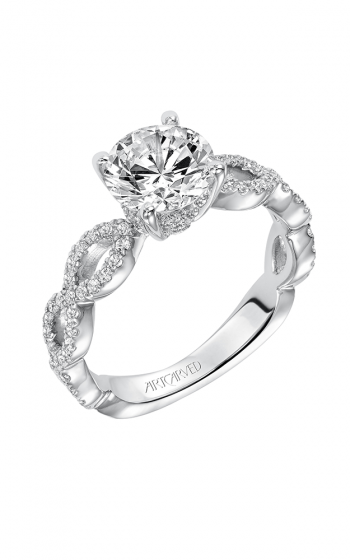 ArtCarved Contemporary Engagement ring 31-V576FRW-E product image