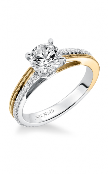 ArtCarved Contemporary Engagement ring 31-V581ERA-E product image