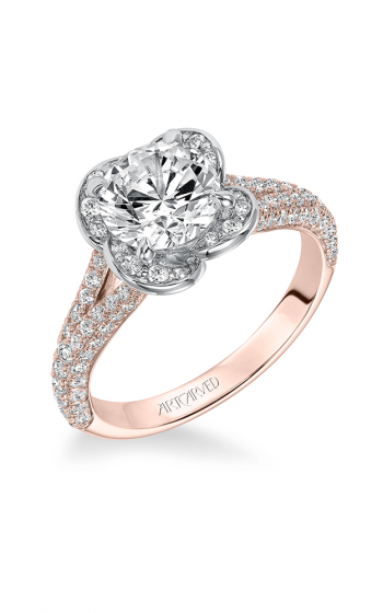 ArtCarved Contemporary Engagement ring 31-V583GRR-E product image