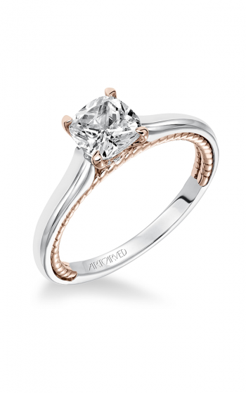 ArtCarved Contemporary Engagement ring 31-V589FUR-E product image