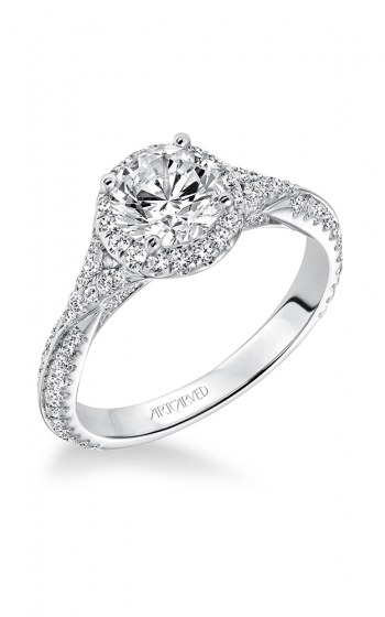 ArtCarved Contemporary Engagement ring 31-V592ERW-E product image