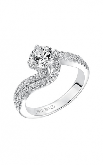 ArtCarved Contemporary Engagement ring 31-V597ERW-E product image