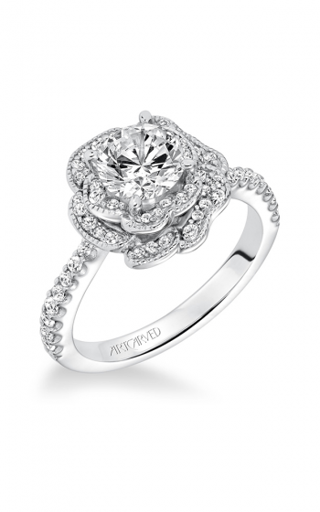 ArtCarved Contemporary Engagement ring 31-V599ERW-E product image