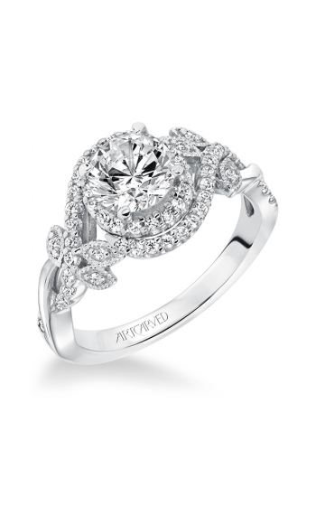 ArtCarved Contemporary Engagement ring 31-V601ERW-E product image