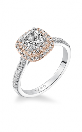 ArtCarved Contemporary Engagement ring 31-V608EUR-E product image