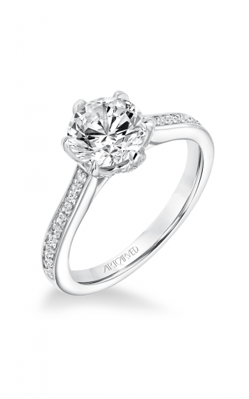 ArtCarved Classic Engagement ring 31-V642GRW-E product image