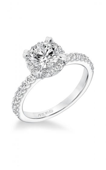 ArtCarved Classic Engagement ring 31-V645ERW-E product image