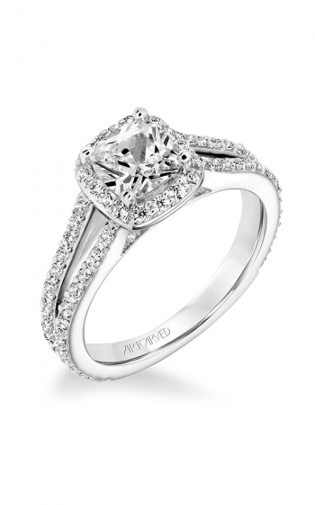 ArtCarved Classic Engagement ring 31-V646EUW-E product image