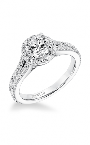ArtCarved Classic Engagement ring 31-V647ERW-E product image