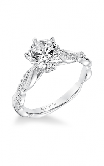 ArtCarved Contemporary Engagement ring 31-V659GRW-E product image
