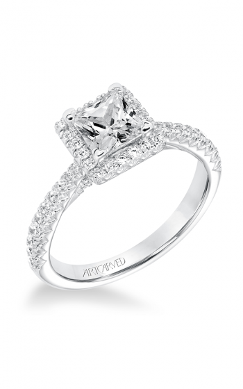 ArtCarved Classic Engagement ring 31-V668ECW-E product image