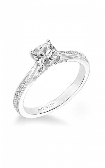 ArtCarved Classic Engagement ring 31-V670EUW-E product image
