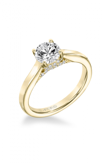 ArtCarved Classic Engagement ring 31-V672ERY-E product image