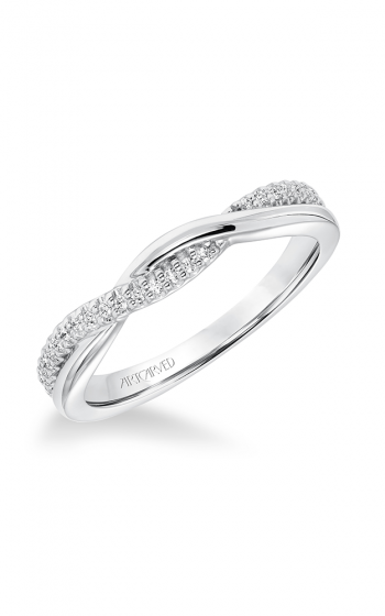 ArtCarved Contemporary Wedding band 31-V671W-L product image
