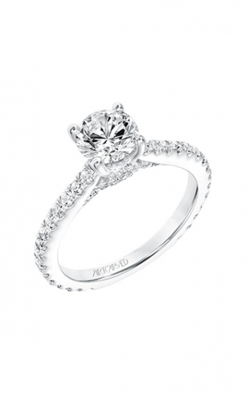 ArtCarved Classic Engagement ring 31-V732ERW-E product image