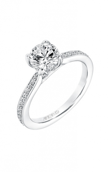 ArtCarved Classic Engagement ring 31-V736ERW-E product image