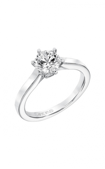 ArtCarved Classic Engagement ring 31-V696ERW-E product image