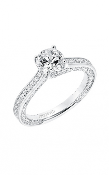 ArtCarved Contemporary Engagement ring 31-V712ERW-E product image