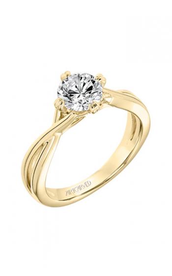 ArtCarved Contemporary Engagement ring 31-V677ERY-E product image
