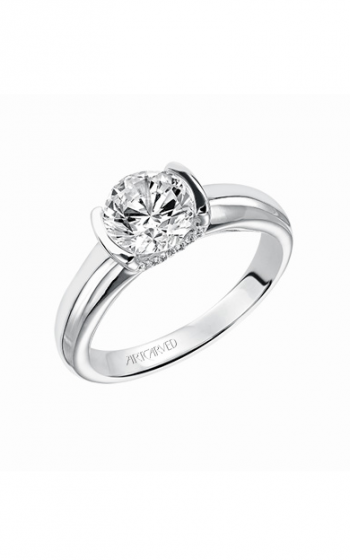 ArtCarved Contemporary Engagement ring 31-V163FRW-E product image