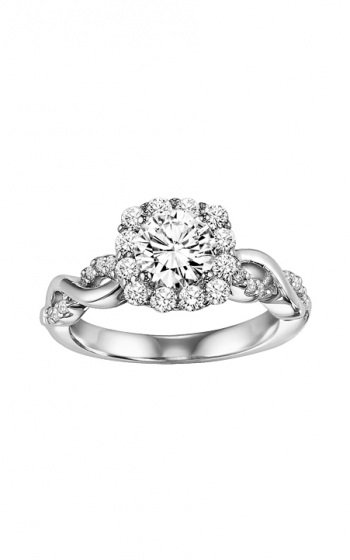 ArtCarved Contemporary Engagement ring 31-V320ERW-E product image