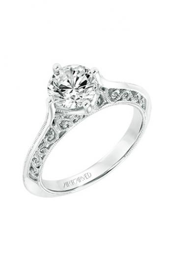 ArtCarved Vintage Engagement ring 31-V720GRW-E product image