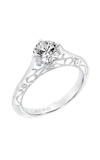 ArtCarved Vintage Engagement ring 31-V726ERW-E product image