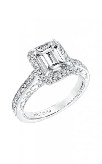 ArtCarved Vintage Engagement ring 31-V728GEW-E product image