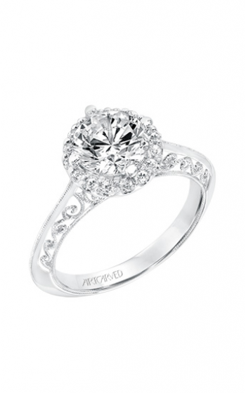 ArtCarved Vintage Engagement ring 31-V729GRW-E product image