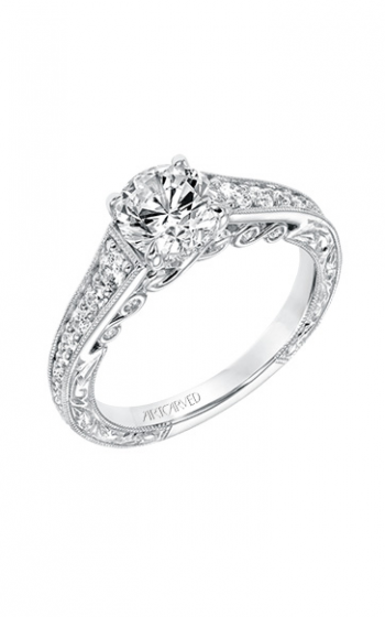 ArtCarved Vintage Engagement ring 31-V691ERW-E product image